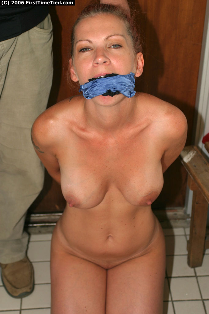 Gagged vibrator first time stealing for the