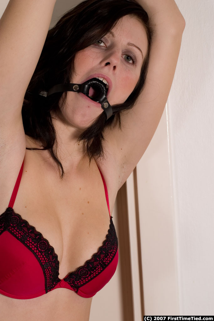 Tied up and gagged then shagged 1