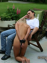 Obeying slave enjoys being dominated such a powe..